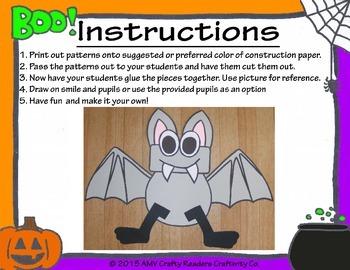 Bat Craftivity