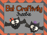 Bat Craftivity Freebie {Halloween Fun} {Girl and Boy Versions}