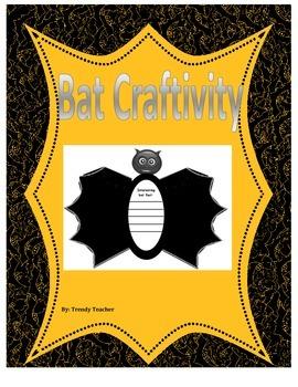 Bat Craftivity (Stellaluna)