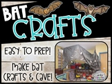 Bat Crafts - Stellaluna Craft Story Map - Bat Hat - Bat Snack
