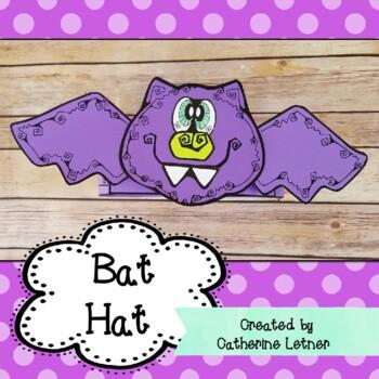 Halloween Craft, Bat Hat Craft, Fall Craft