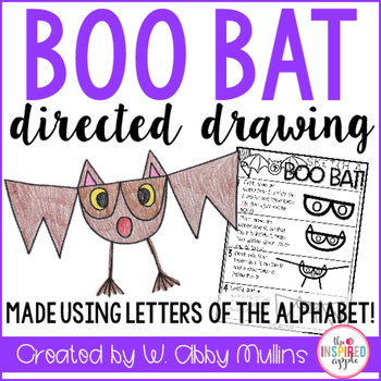 Bat Directed Drawing FREEBIE!