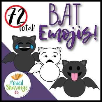 Bat Emojis MEGA Pack   72 Emojis total!