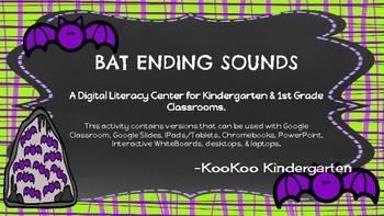 Bat Ending Sounds-A Digital Literacy Center