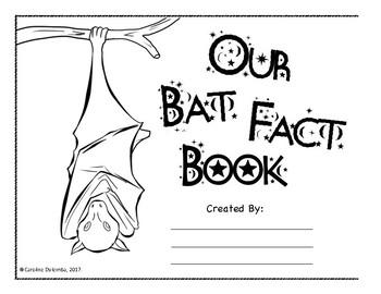 Bat Fact Booklet (Group and Individual Formats)