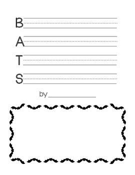 Bat Facts Acrostic Poem