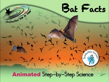 Bat Facts - Animated Step-by-Step Science - SymbolStix
