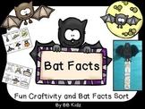Bat Facts Craftivity and Sort / Kindergarten