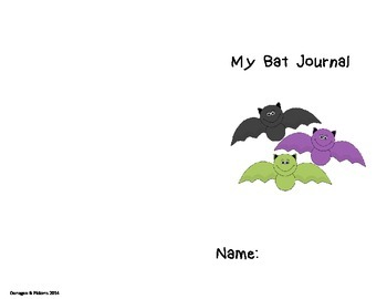 Bat Facts Journal