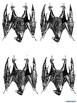 Bat Garland Decoration-bats decor banner