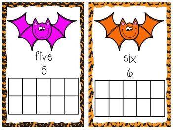 Halloween Bat Math Mini Unit