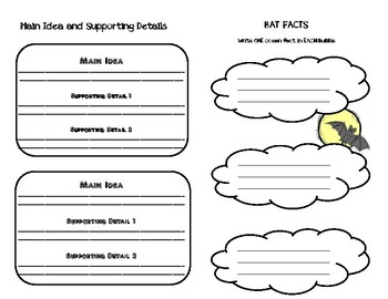 Bat Guided Reading Independent Research Booklet