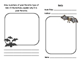 OCTOBER Bat Guided Reading Independent Research Booklet