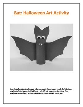Bat: Halloween Art Activity