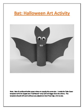 Bat: Halloween Art Activity