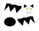 Bat Halloween Autumn Kindergarten Art Project Cut Out Paste Color Paint 4 pages