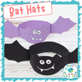 Bat Hats - Halloween Craft