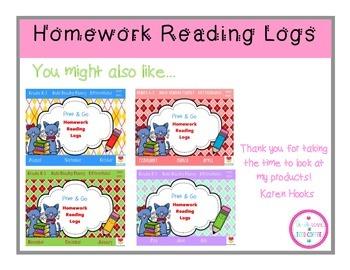 Bat Homework Reading Log