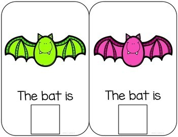 Bat Interactive Color and Counting Book