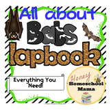 Bat Lapbook with Reading - 114 Pages for a Great Unit Study