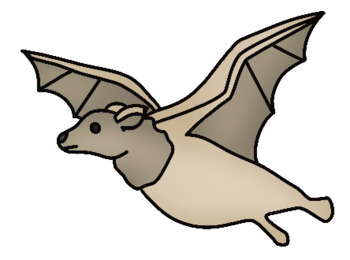 Bat Life Clip Art Set - Whimsy Workshop Teaching