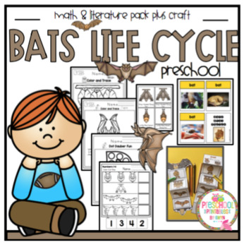 Bat Life Cycle Printable