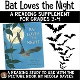 Bat Loves the Night Book Study: Organizers and Interactive Notebook Pages