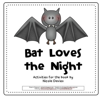 Bat Loves the Night (Compatible with 3rd Grade Journeys)