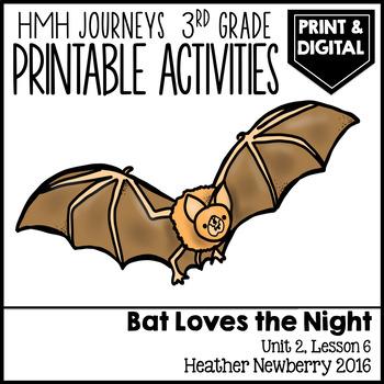 Bat Loves the Night: Journeys 3rd Grade (Unit 2, Lesson 6)