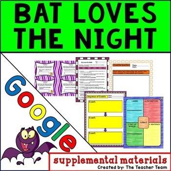Bat Loves the Night Journeys 3rd Grade Unit 2 Lesson 6 Google Digital Resource