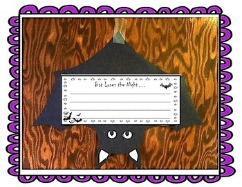 Bat Loves the Night Journeys Unit 2 Lesson 6 3rd grade Sup. Act.