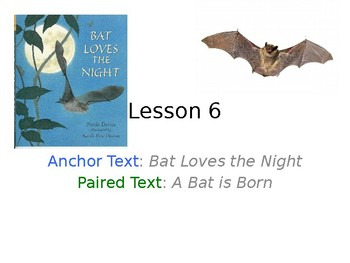 Bat Loves the Night PowerPoint with Weekly Activities for Journeys 3rd Grade