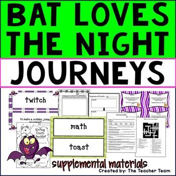 Bat Loves the Night Journeys Third Grade Supplemental Materials