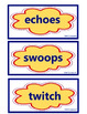 Bat Loves the Night, Vocabulary Cards, Unit 2 Lesson 6, Jo