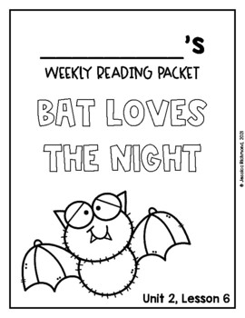 Bat Loves the Night - Supplemental Packet