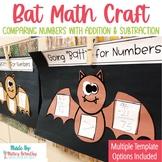 Bat Halloween Math Craft
