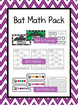 Bat Math Pack