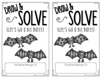 Bat Math - Story Problem Mini-Book {Freebie}