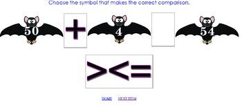 Bat Math for 1st Grade: FREE Interactive Resource