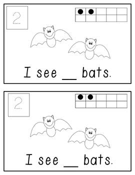 Bat Mini Unit: 2 Differentiated Activities for Math and Literacy