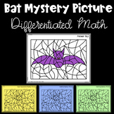 Bat Mystery Picture Color by Code