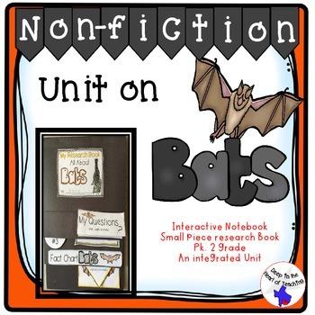 Bat Nonfiction Interactive Notebook