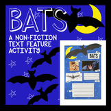 Bat Nonfiction Text Feature Activity
