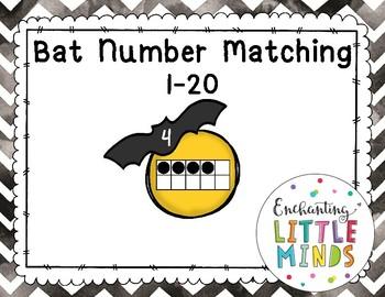 Bat Number Matching 1-20
