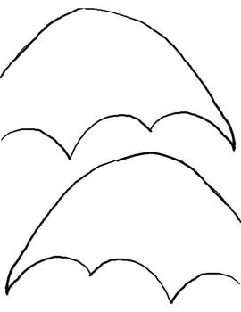 Bat Outline Craft