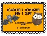 Bat & Owl Expository Fall Writing Activity