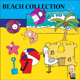 Beach Clipart Collection
