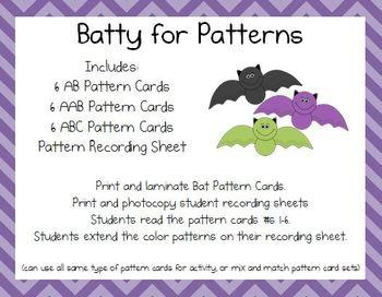 Bat Patterns