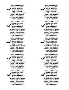 Bat Poop Poem