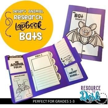 Bat Research Project - A Desert Animal Research Lapbook